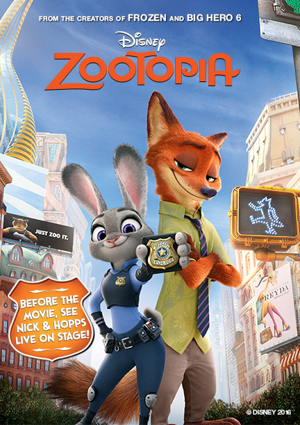 Zootopia / Зоотрополис (2016)