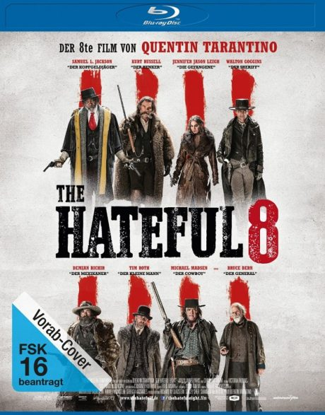 The Hateful Eight / Омразната осморка (2015)