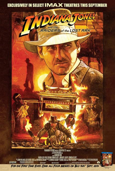 Indiana Jones I : Raiders of The Lost Ark / Индиана Джоунс 1 : Похитителите на изчезналия кивот (1981)