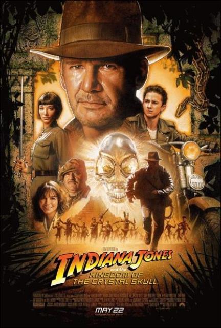 Indiana Jones IV : The Kingdom of the Crystal Skull / Индиана Джоунс 4 : Кралството на кристалния череп (2008)