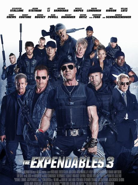 The Expendables III / Непобедимите 3 (2014)