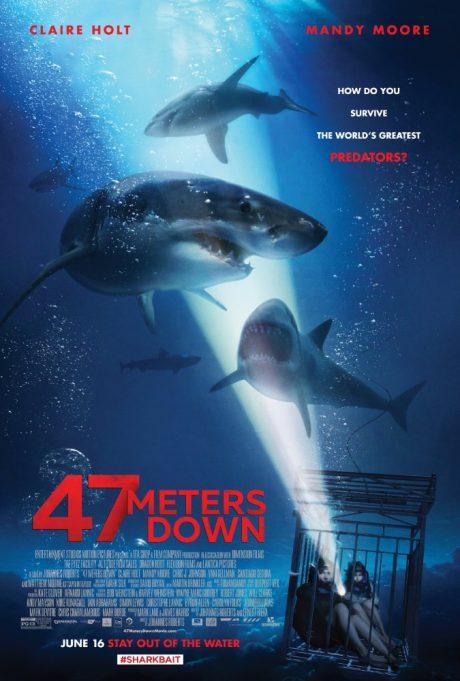 47 Meters Down / 47 метра (2017)