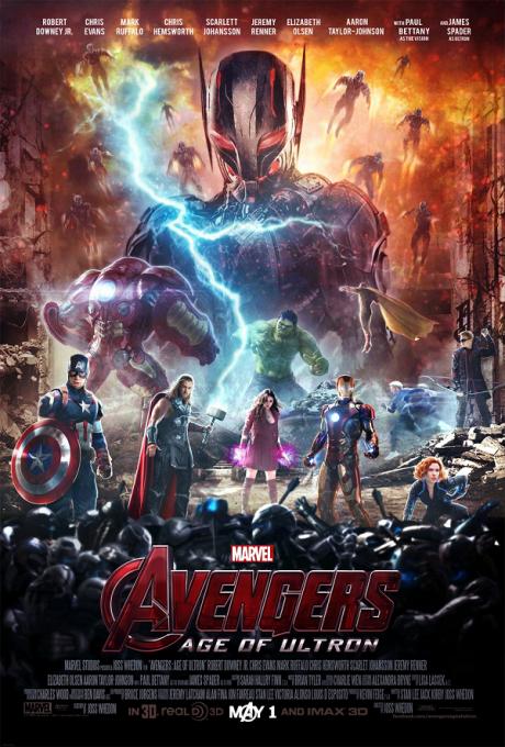 The Avengers II : Age of Ultron / Отмъстителите 2 : Ерата на Ултрон (2015)