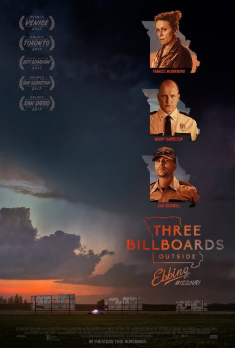 Three Billboards Outside Ebbing, Missouri / Три билборда извън града (2017)