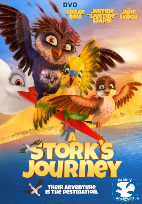 A Stork's Journey / Richard The Stork / Щъркелчето Ричард (2017)