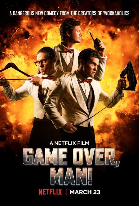 Game Over, Man! / Край на играта, пич! (2018)