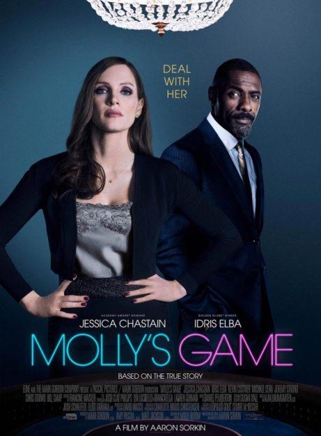 Molly's Game / Принцесата на покера (2017)