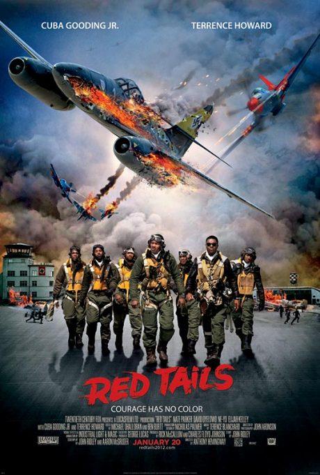 Red Tails / Червените опашки (2012)