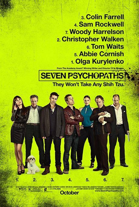 Seven Psychopaths / Седемте психопата (2012)