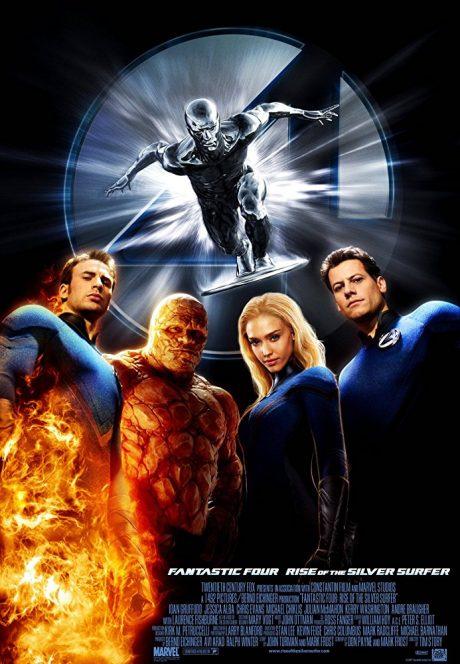 Fantastic Four II : Rise of the Silver Surfer / Фантастичната четворка 2 : Фантастичната четворка и Сребърният Сърфист (2007)