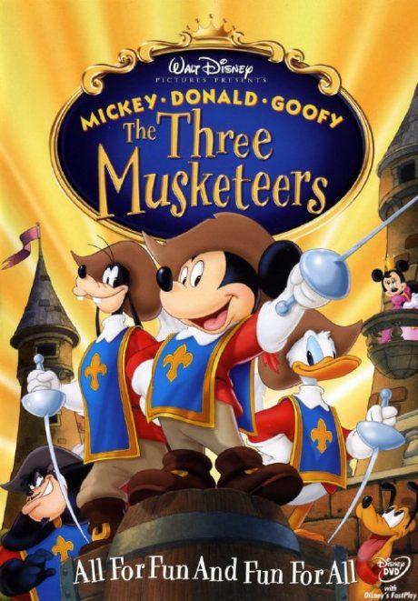 The Three Musketeers : Mickey, Donald, Goofy / Тримата мускетари : Мики, Доналд и Гуфи (2004) (Walt Disney)