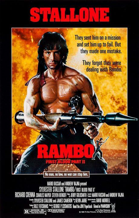 Rambo II : First Blood (Part II) / Рамбо 2 : Първа кръв (Част 2) (1985)