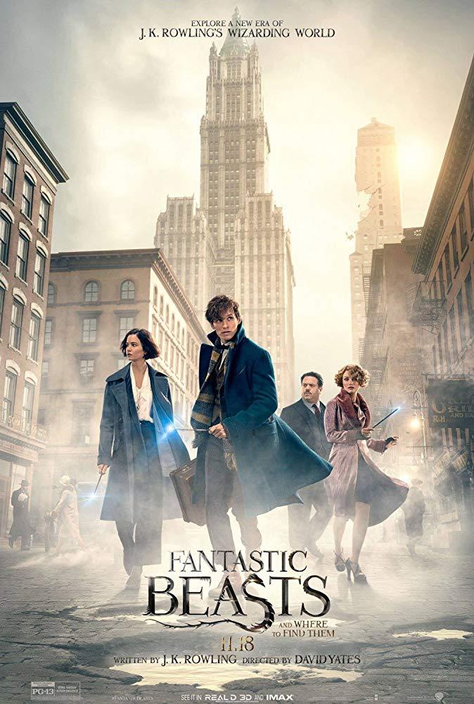 Fantastic Beasts I : Where to Find Them / Фантастични животни 1 : Къде да ги намерим (2016)