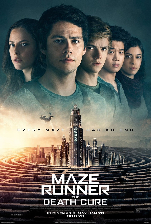 Maze Runner III : The Death Cure / Лабиринтът 3 : Последният кандидат (2018)