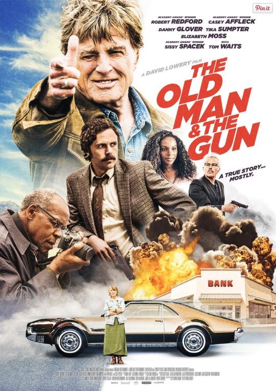 The Old Man & the Gun / Старецът и оръжието (2018)