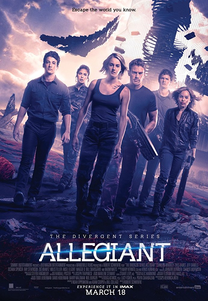 Divergent III : Allegiant / Дивергенти 3 : Предани (2016)