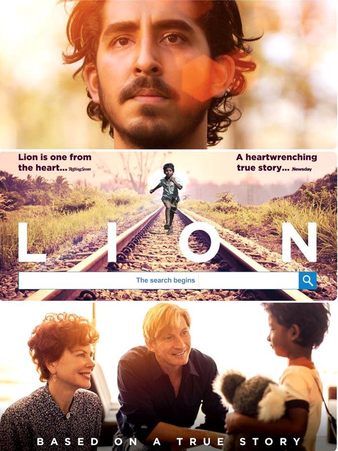Lion / Лъв : Стъпки към дома (2016)