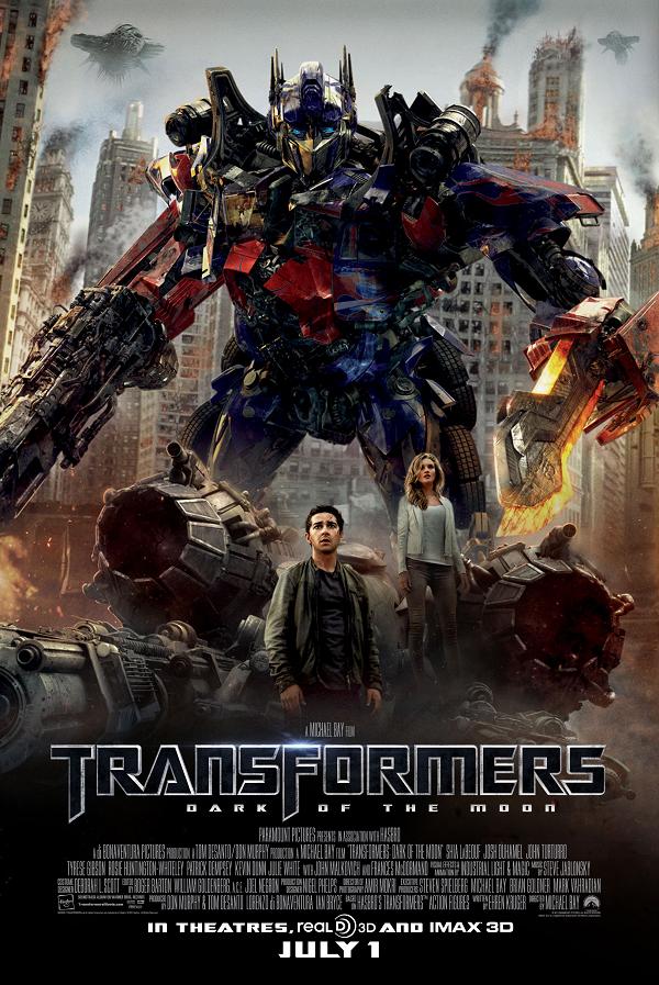 Transformers III: Dark of the Moon / Трансформърс 3: Тъмната страна на луната (2011)