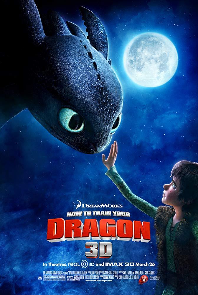 How to Train Your Dragon I / Как да си дресираш дракон 1 (2010)