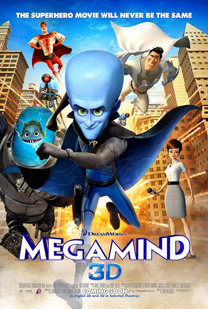 Megamind / Мегаум (2010)