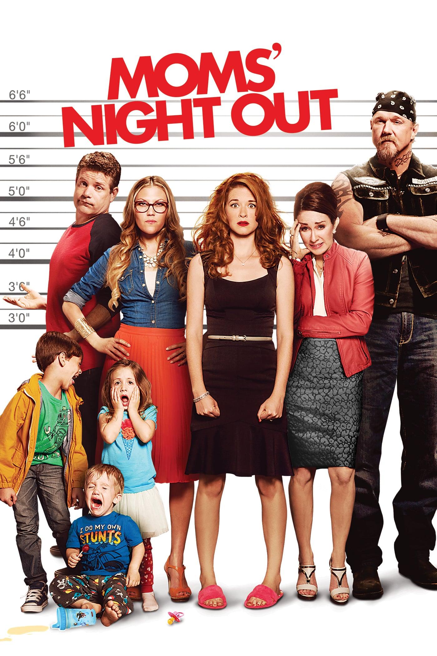 Moms' Night Out / Нощта на майките (2014)