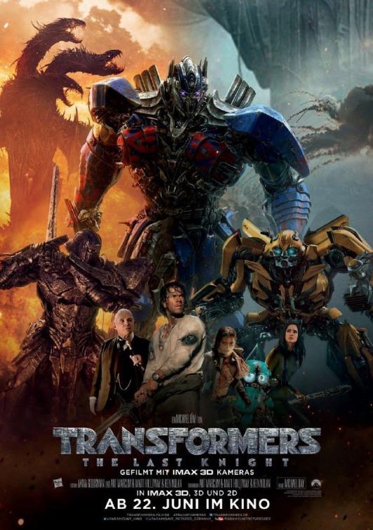 Transformers V : The Last Knight / Трансформърс 5 : Последният рицар (2017)
