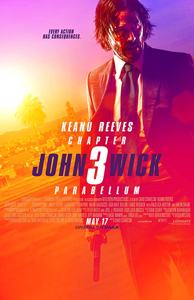 John Wick Chapter III Parabellum / Джон Уик 3 (2019)